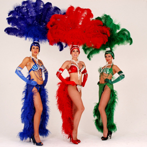 showgirl costume follies